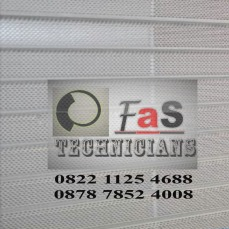 Contoh Rolling Door Galvalum Perforated (Berlubang)