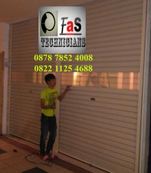 Pasang Baru Rolling Door One Sheet