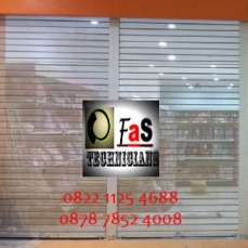 Rolling Door Oe Shett Full Perforated (Full Berlubang)