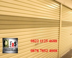 Rolling Door One Sheet semi full perforated