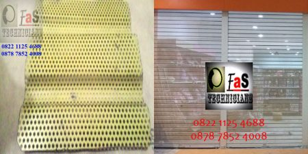 Rolling Door One Sheet Perforated Full