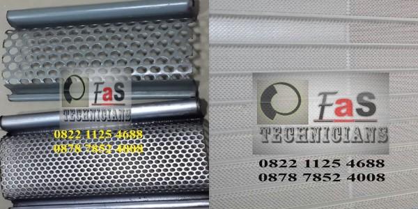 Rolling Door Galvalum Full Perforated