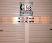 Rolling Door One Sheet Semi Perforated