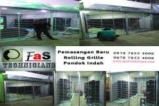 Pemasangan Baru Rolling Grille Jakarta Selatan