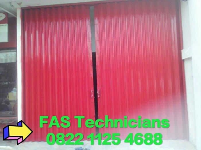 Pintu Garasi Folding Gate